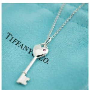Gorgeous sterling silver Tiffany and Co. key
